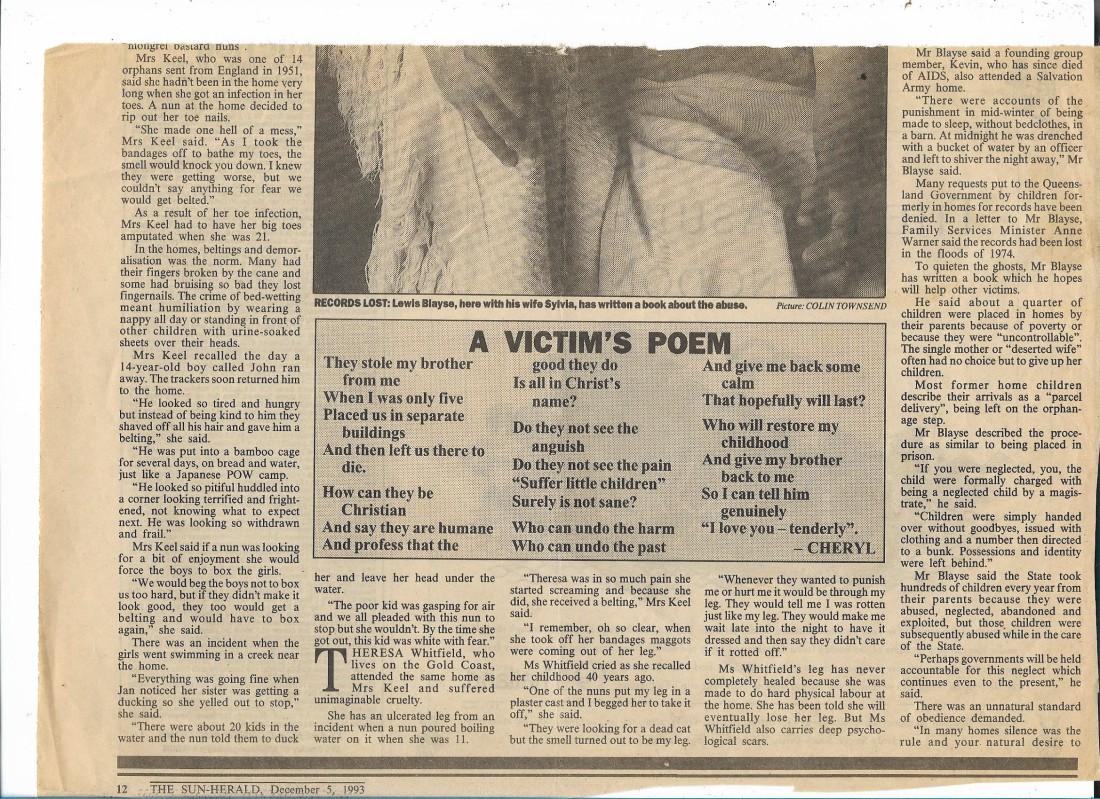 Sun Herald 1993